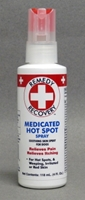 Remedy + Recovery Medicated Hot Spot Spray with Lidocaine for Dogs, 4 oz