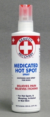 Remedy + Recovery Medicated Hot Spot Spray with Lidocaine for Dogs, 8 oz