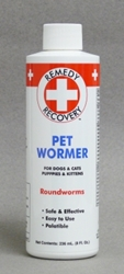 Remedy + Recovery Pet Wormer for Dogs & Cats, 8 oz