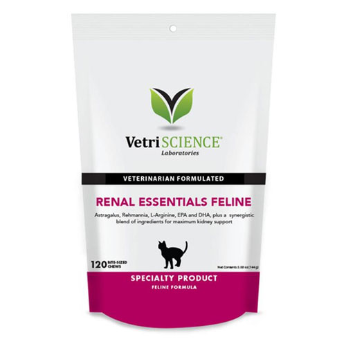 Renal Essentials Feline Bite-Sized Chews, 120 Soft Chews