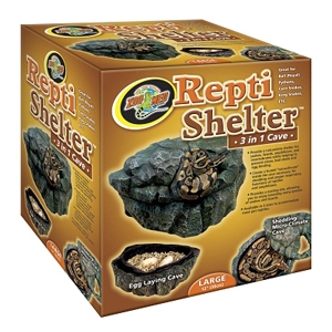 Repti Shelter 3-in-1 Cave, Large