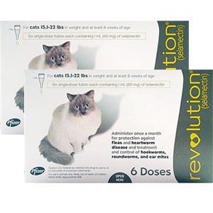 Revolution for Cats 15-22 lbs, 12 Pack (Taupe)