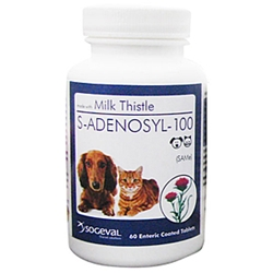 S-Adenosyl-100 (SAMe) for Small Dogs and Cats, 30 Tablets