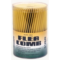 Safari Double-Sided Plastic Flea Comb, 100 ct