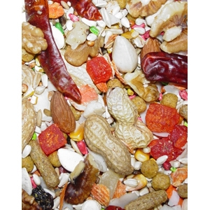 Safflower Gold Large Hookbill Bird Food, 25 lb