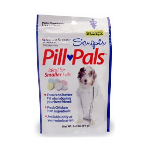 Scripts Pill Pals for Smaller Pills, 3.2 oz (30 Treats)