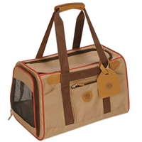 Sherpa AKC Standard Carrier, Tan & Red