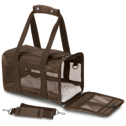 Sherpa Original Deluxe Carrier Brown & Pink, Medium