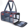 Sherpa Original Deluxe Carrier Navy & Red, Medium