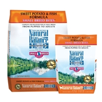 Small Breed Bites Sweet Potato & Fish Dog Food, 12.5 lb