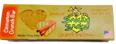 Snicky Snaks Cinnamon Crunch Bar, 1.9 oz