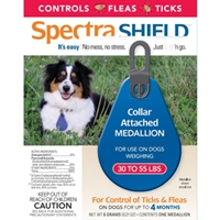 Spectra Shield Medallion for Medium Dogs