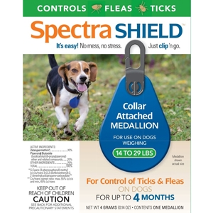 Spectra Shield Medallion for Small Dogs