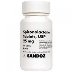 Spironolactone 25 mg, 100 Tablets