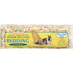 Sunseed Shredded Cedar Bedding, 1000 cubic in
