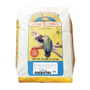 Sunseed Vita Cockatiel Food, 25 lb
