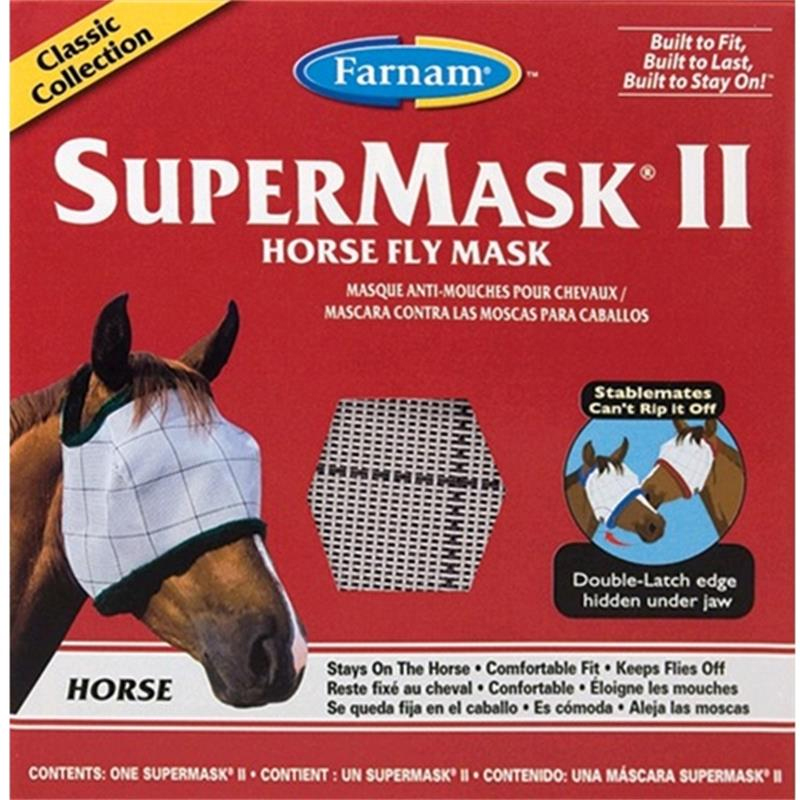 Super Mask for Horses, Size-Adult Horse