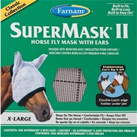 Super Mask with Ears for Horses, Size-Extra Large