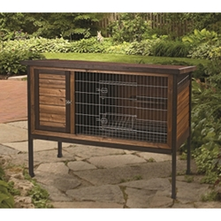 "Super Pet Rabbit Hutch 1-Story, 48"" x 24.25"" x 36.25"""