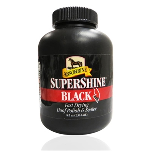 Supershine Hoof Polish & Sealer Black, 8 oz