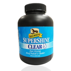 Supershine Hoof Polish & Sealer Clear, 8 oz