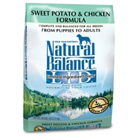 Sweet Potato & Chicken Formula Dog Food, 28 lb