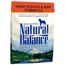 Sweet Potato & Fish Formula Dog Food, 28 lb