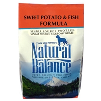Sweet Potato & Fish Formula Dog Food, 5 lb