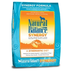 Synergy Ultra Formula Dog Food, 15 lb