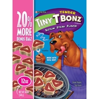 T Bonz Tiny Filet Mignon Flavor Dog Treats, 10 oz - 10 Pack