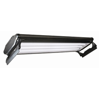 T5 HO 4 Lamp Fluorescent Light Fixture, 48""