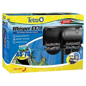 Tetra Whisper EX70 Filter, 70 gal