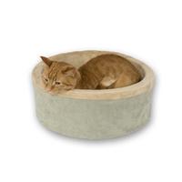 Thermo-Kitty Bed Mocha, 16""