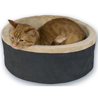 Thermo-Kitty Bed Mocha, 20""