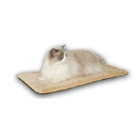 "Thermo-Kitty Mat Mocha, 12.5"" x 25"""