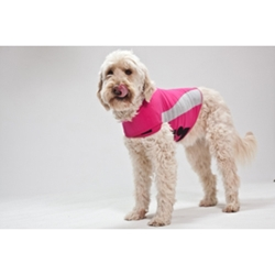 Thundershirt Pink Polo, Extra Large