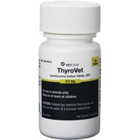 Thyrovet Tablets, 180 ct, 0.1 mg