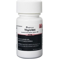 Thyrovet Tablets, 180 ct, 0.2 mg