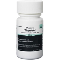 Thyrovet Tablets, 180 ct, 0.3 mg