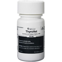 Thyrovet Tablets, 180 ct, 0.5 mg
