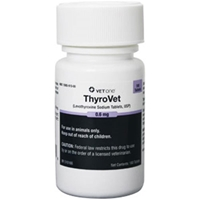 Thyrovet Tablets, 180 ct, 0.6 mg