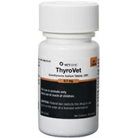 Thyrovet Tablets, 180 ct, 0.7 mg