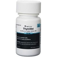 Thyrovet Tablets, 180 ct, 0.8 mg