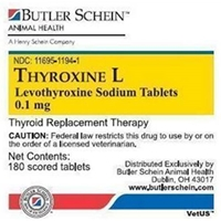 Thyroxine L Tablets, 180 ct, 0.1 mg