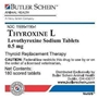 Thyroxine L Tablets, 180 ct, 0.5 mg