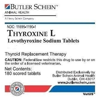 Thyroxine L Tablets, 180 ct, 0.6 mg