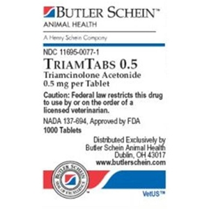 TriamTabs 0.5 mg, 30 Tablets