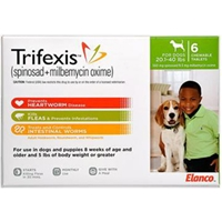 Trifexis for Dogs 20.1-40 lbs, 6 Chewable Tablets (Green)