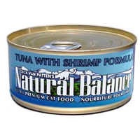 Tuna & Shrimp Cat Food, 6 oz - 24 Pack