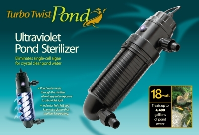 Turbo Twist Pond 6X 18W